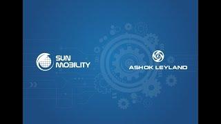 Download Sun Mobility   Ashok Leyland Auto Expo 2018 Launch