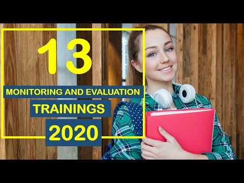 13 Monitoring and Evaluation Training to Enroll in 2020 - YouTube