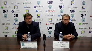 ОЧРК 2019/20. Пресс-конференция «Altay Torpedo» - «Ertis», игра №70, 74