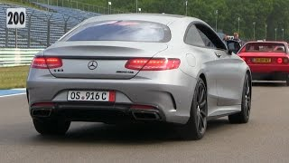 Mercedes S63 AMG Coupe w/ Akrapovic Exhaust | REVS + Acceleration