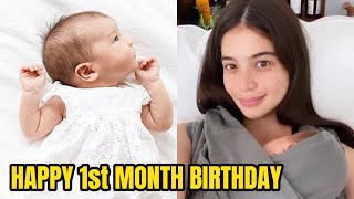 Anne Curtis FINALLY Ipinakita Na Si Baby Dahlia Amelie!! Celebrates 1st Month Birthday!!!