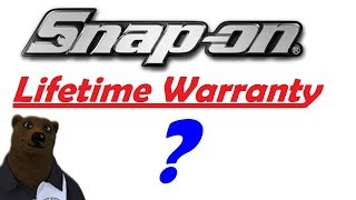 You Get What You Pay For?  (Snap-On Warranty Hard Truths)