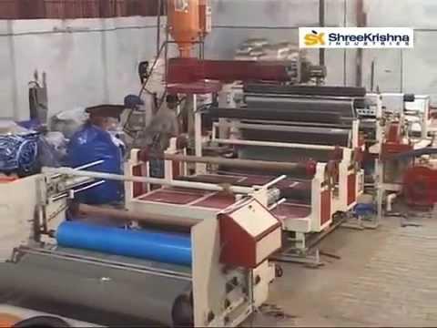 HDPE Tarpaulin Lamination Plant
