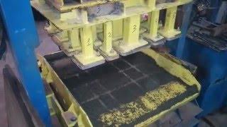 процесс производства плитки старый город