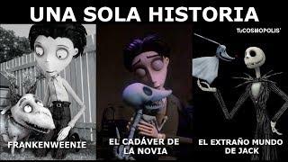 FRANKENWEENIE, EL CADÁVER de LA NOVIA y EL EXTRAÑO MUNDO de JACK SON LA MISMA HISTORIA