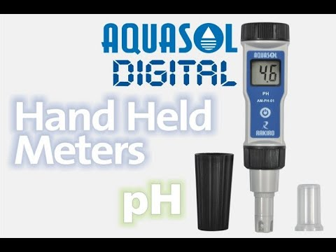 Aquasol Digital Hand Held Meters