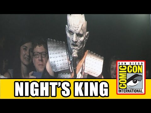 Night's King Surprise Appearance at Game of Thrones Comic Con 2017 Panel | MTW