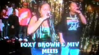 Foxy Brown live @ Funk Flex show in Brooklyn