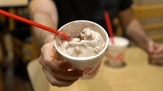CTC Review #124 – Dairy Queen Blizzards Fall Menu: Reese's Outrageous & Snickerdoodle Cookie Dough