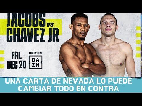 Nevada envía fuerte carta contra Jacobs vs Chávez jr
