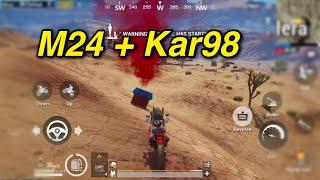 PUBG Mobile | Clear Khu Biệt Thự || Dùng M24 + Kar98 Lấy TOP ...và Cái Kết ...
