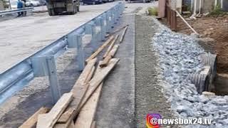 Объездную дорогу Дальхимпром Горностай отремонтировали раньше времени