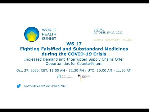 WS 17  - walka z lekami sfałszowanymi i o obniżonej jakości podczas kryzysu COVID-19