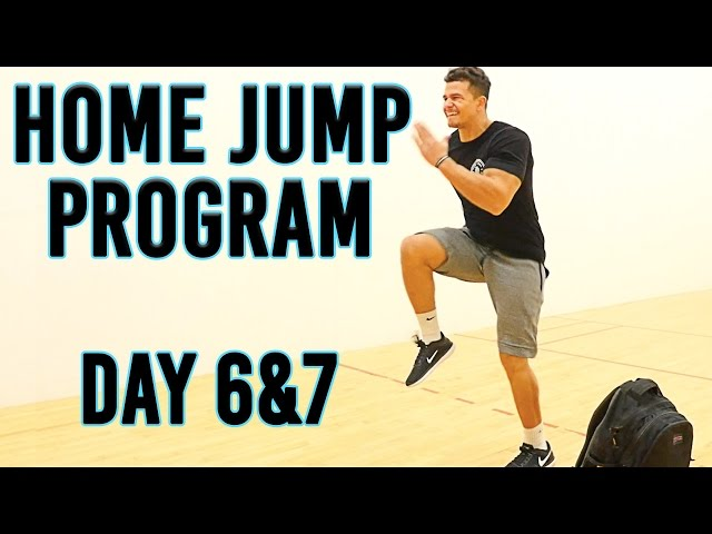 FREE 2-Week Home Jump Program   Day 6&7