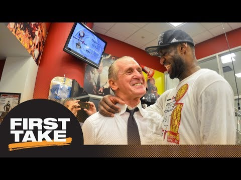 Stephen A. applauds Pat Riley for opening up about LeBron James' exit from Heat | First Take | ESPN
