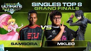 Samsora Vs MkLeo   GRAND FINALS: Singles   Smash Ultimate Summit 2 | Peach Vs Joker