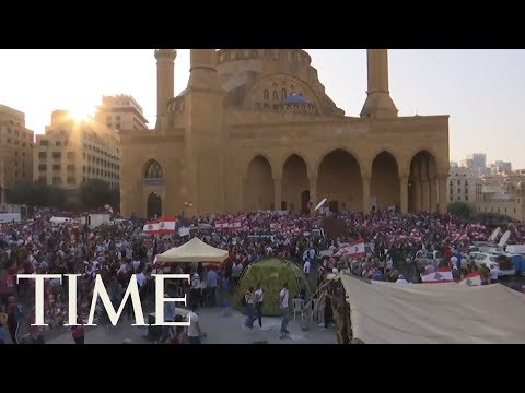 Protests In Lebanon Are Entering Their Sixth Day | TIME
