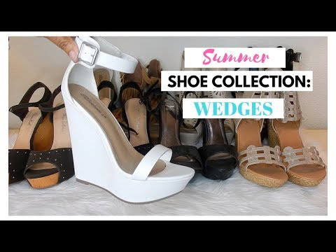 Summer Shoe Collection 2018: Wedges
