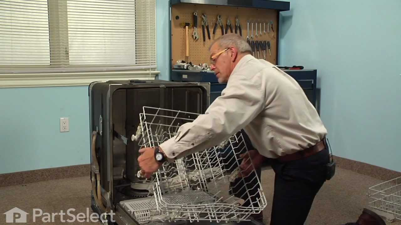 Replacing your Kenmore Dishwasher 3rd Level Wash Spinner Kit