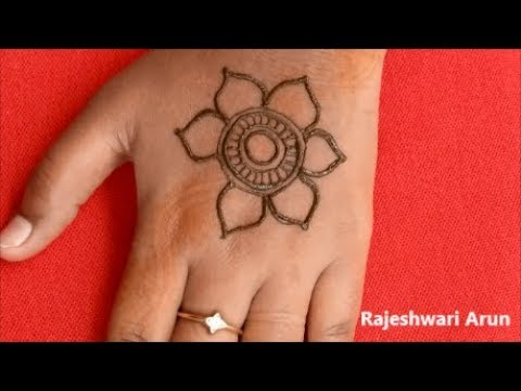 Download Simple Arabic Mehndi Design For Hands Best New Mehndi