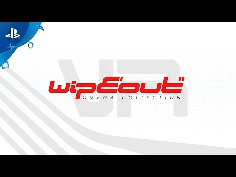 WipEout Omega Collection VR – Launch Trailer | PS4
