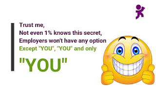 "#Top Secret reaveled How to answer ""Tell me something about yourself"" in Job Interview"