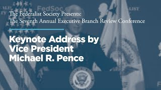 Click to play: Keynote Address by Vice President Michael R. Pence
