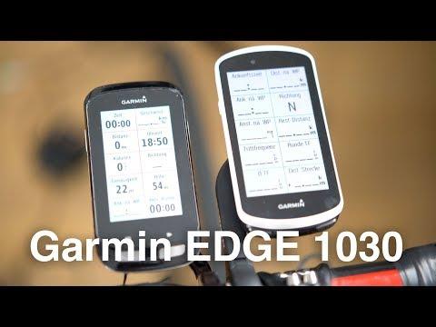 Garmin EDGE 1030: Auspacken, Einrichten und kurzer Vergleich mit EDGE 1000 (deutsch)