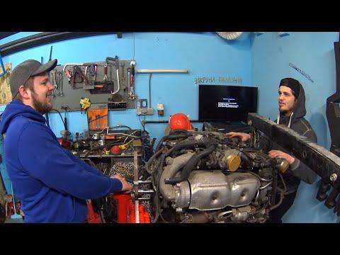 DIY: Универсальный стенд для двигателей своими руками!