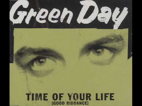 Colorful Green Day Good Riddance Chords Vignette - Basic Guitar ...