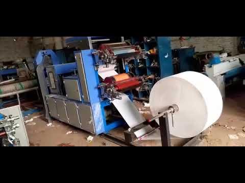 40x40 Automatic Tissue/ Napkin Making Machines