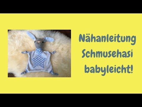 Nähanleitung Schmusehasi - babyleicht!