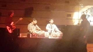 Pandit Rakesh Chaurasia fusion at Auckland Town Hall, June 2016 Nz