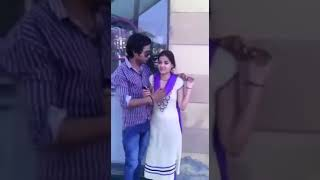 Collage Girl and Boy on terrace | Recorded by my phone