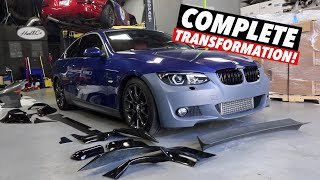 Turning a $5000 BMW 335i into a $50,000 BMW! [Part 3] by TJ Hunt