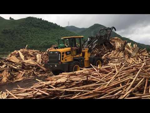 Bán máy xúc lật gắp gỗ có tháo lắp nhanh - 0935.727.666
