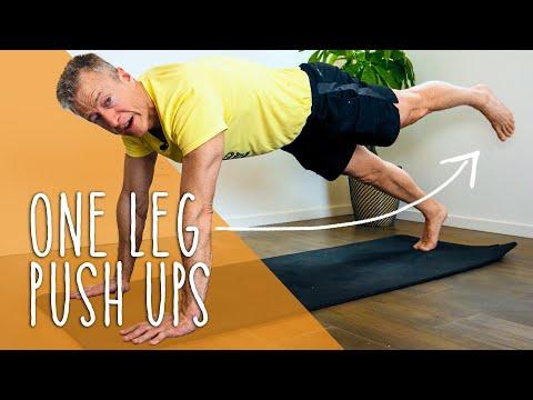 1 Leg Pushup