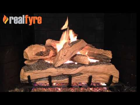 Peterson Split Oak Designer Plus Gas Logs
