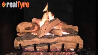 Split Oak Designer Plus for the fireplace