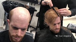 Hair Replacement Fitting Video (Enric) – Hair Loss, Baldness, Hair Systems, Hair Pieces, Hair Wigs