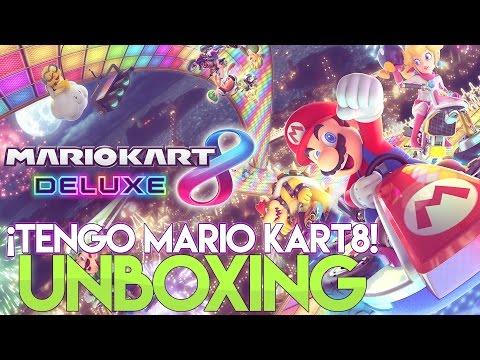 Unboxing Mario Kart 8 Deluxe - Nintendo Switch