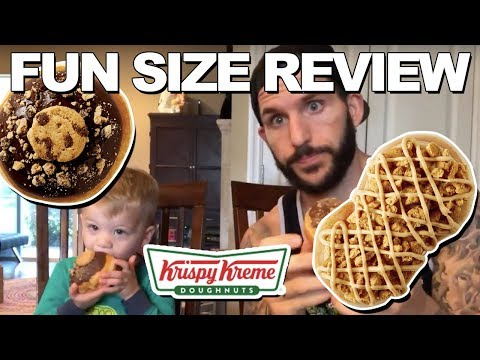 Fun Size Review: Krispy Kreme's Chips Ahoy and Nutter Butter Twist Donut