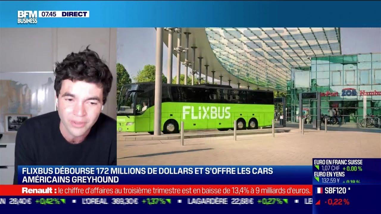 Pierre Gourdain (Flixbus) : Flixbus s'offre les cars américains Greyhound