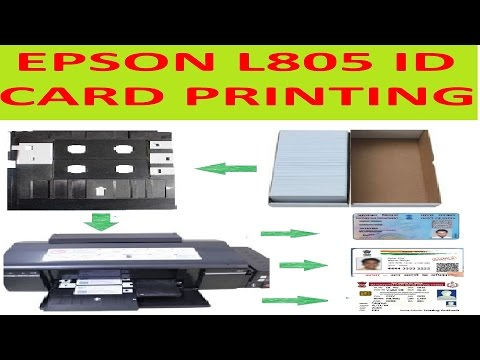 Epson ID Card Printer L805  With Software