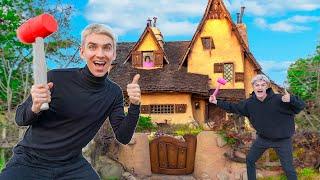 WE BROKE INTO MYSTERY NEIGHBOR HOUSE!! (New Evidence Clues Found)