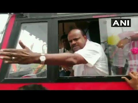 Facing protests, Karnataka CM threatens, says demonstrators voted for BJP