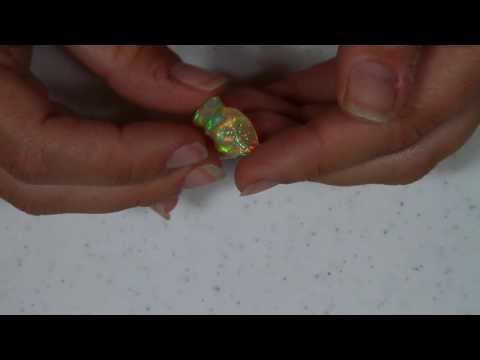 Freeform Carved Welo Opal 9.54 Carat*