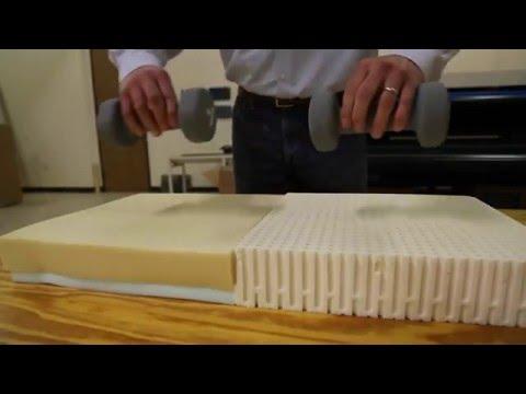 Natural Latex Feels Different Than Memory Foam
