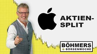 Apple führt Aktiensplit durch - was bedeutet das?