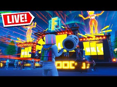 FORTNITE MARSHMELLO LIVE EVENT CONCERT!!! (Fortnite Battle Royale)